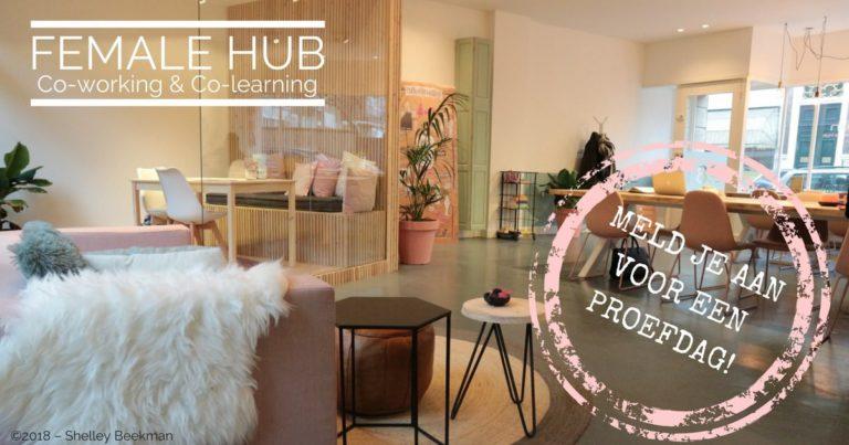 Doos Open Female Hub - Co-working voor vrouwen Den Haag - proefdagen